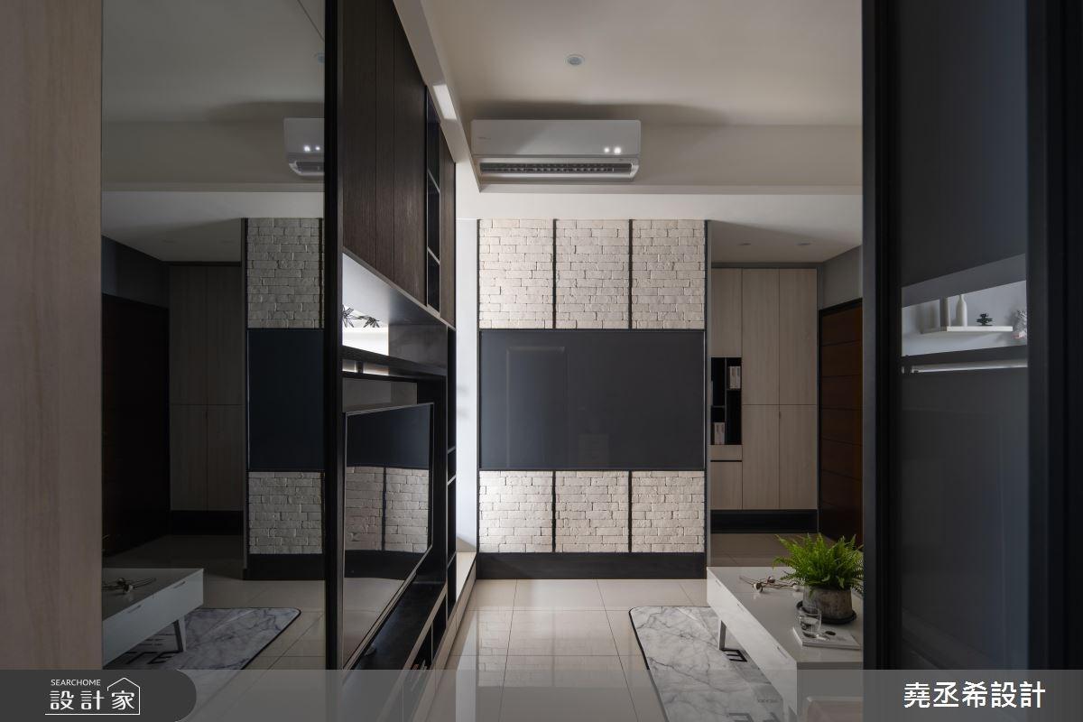 20坪新成屋(5年以下)_現代風客廳案例圖片_堯丞希設計_堯丞希_33之5