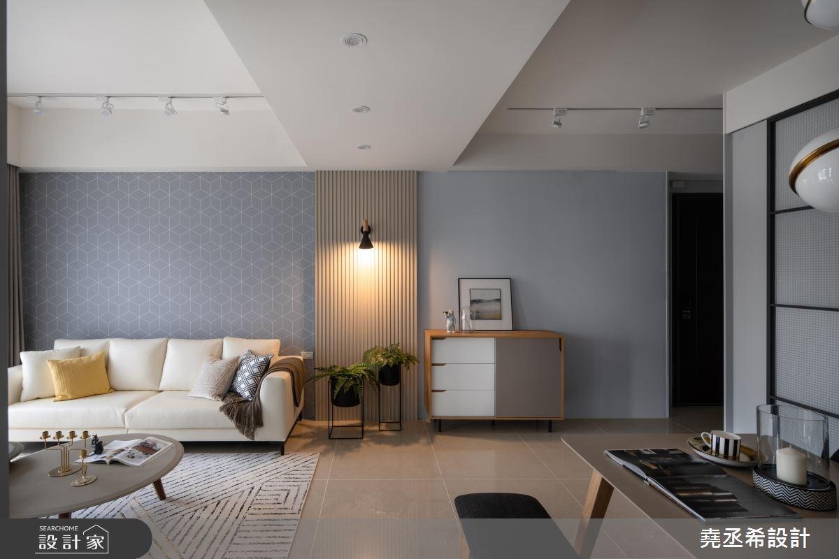 24坪新成屋(5年以下)_北歐風客廳案例圖片_堯丞希設計_堯丞希_34之2