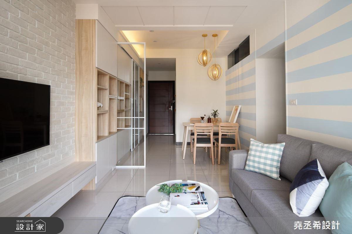 21坪新成屋(5年以下)_北歐風客廳案例圖片_堯丞希設計_堯丞希_35之3