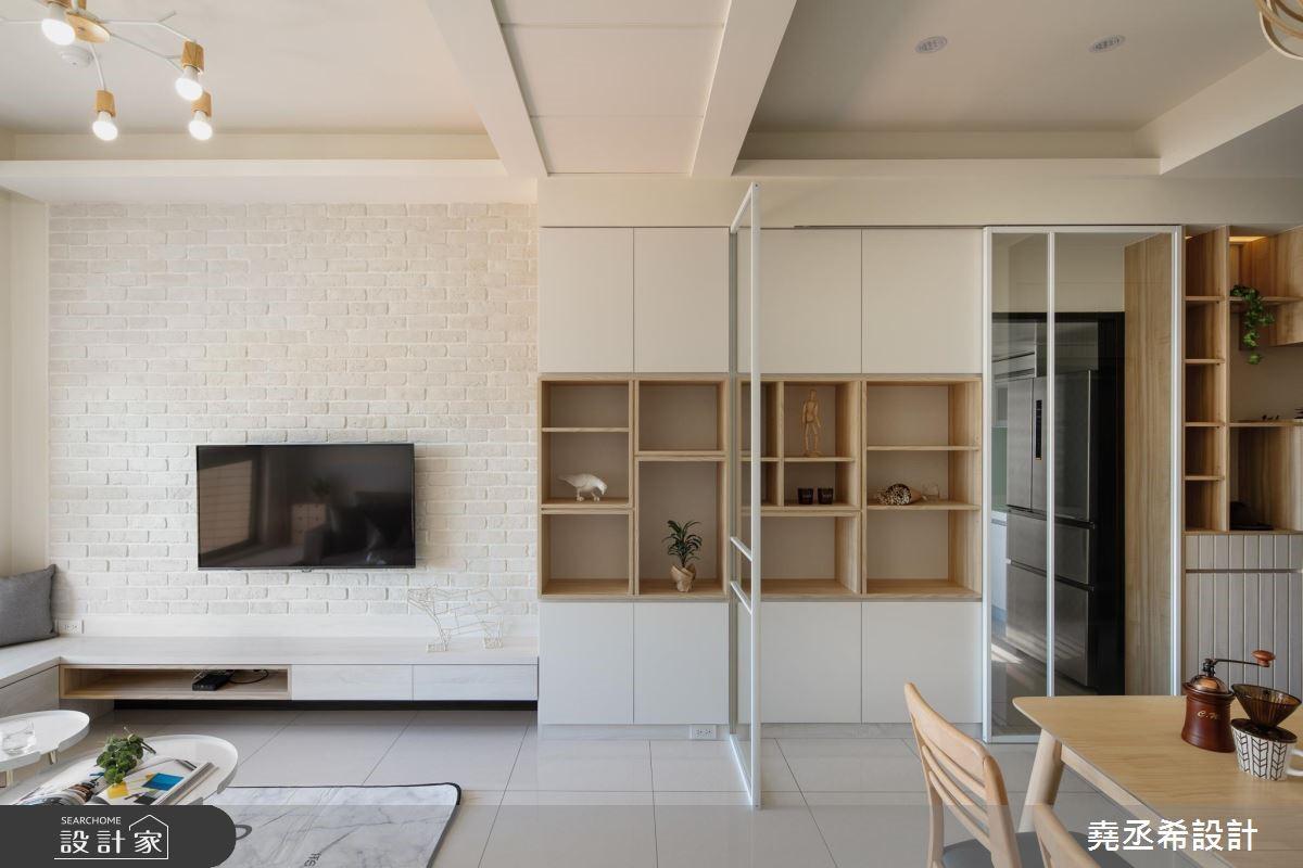 21坪新成屋(5年以下)_北歐風客廳案例圖片_堯丞希設計_堯丞希_35之1