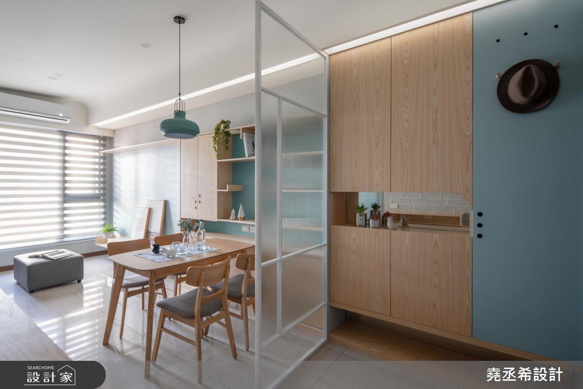 17坪新成屋(5年以下)_北歐風餐廳案例圖片_堯丞希設計_堯丞希_36之3