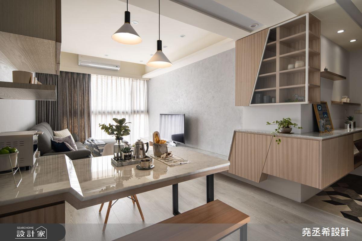 18坪新成屋(5年以下)_北歐風客廳餐廳案例圖片_堯丞希設計_堯丞希_40之3