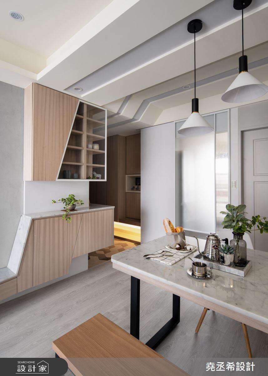 18坪新成屋(5年以下)_北歐風餐廳案例圖片_堯丞希設計_堯丞希_40之5