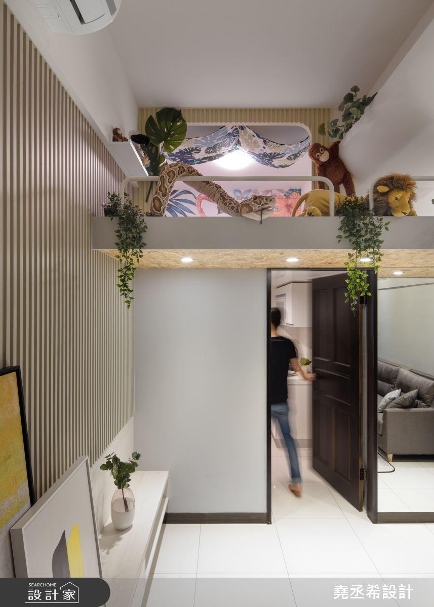 20坪新成屋(5年以下)_北歐風客廳案例圖片_堯丞希設計_堯丞希_42之2