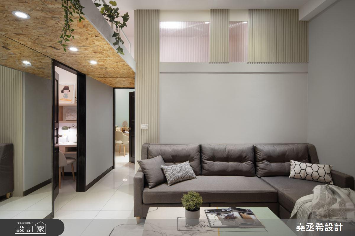 20坪新成屋(5年以下)_北歐風客廳案例圖片_堯丞希設計_堯丞希_42之4