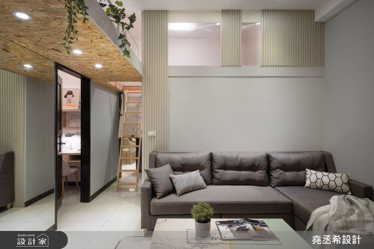 20坪新成屋(5年以下)_北歐風客廳案例圖片_堯丞希設計_堯丞希_42之5