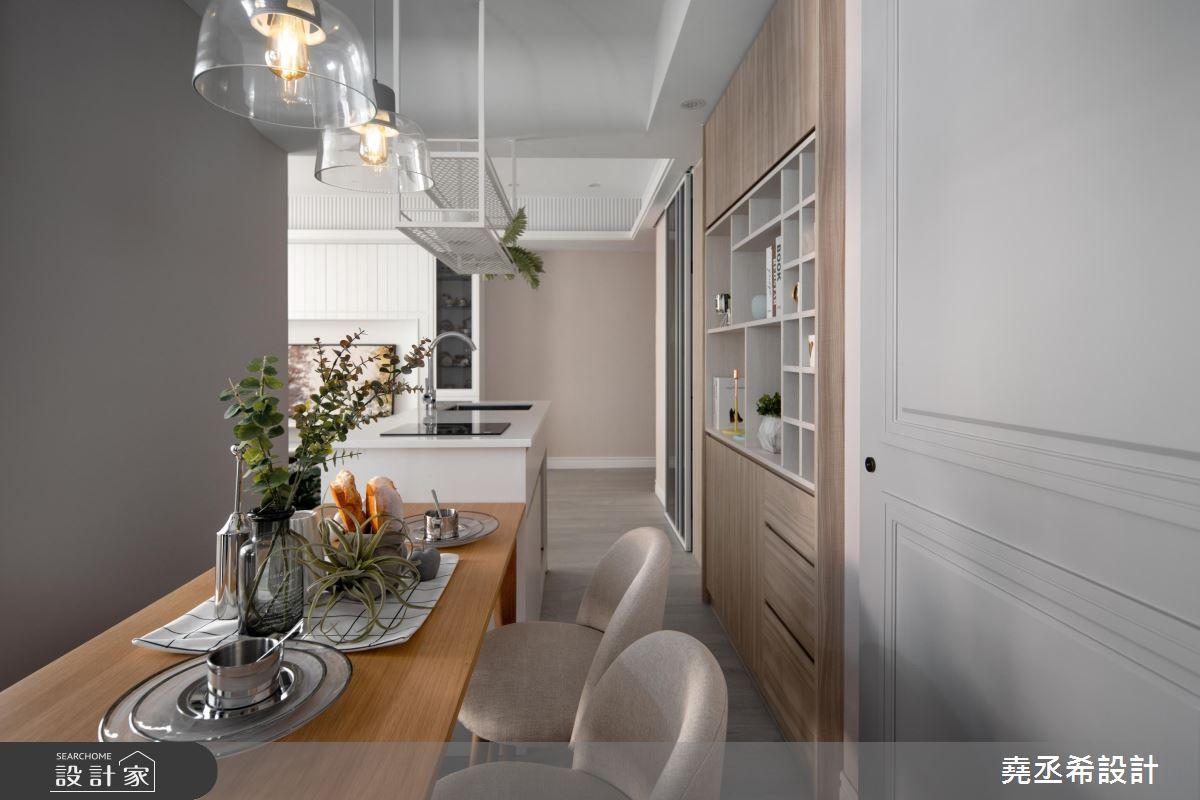 20坪新成屋(5年以下)_新古典餐廳吧檯案例圖片_堯丞希設計_堯丞希_43之9