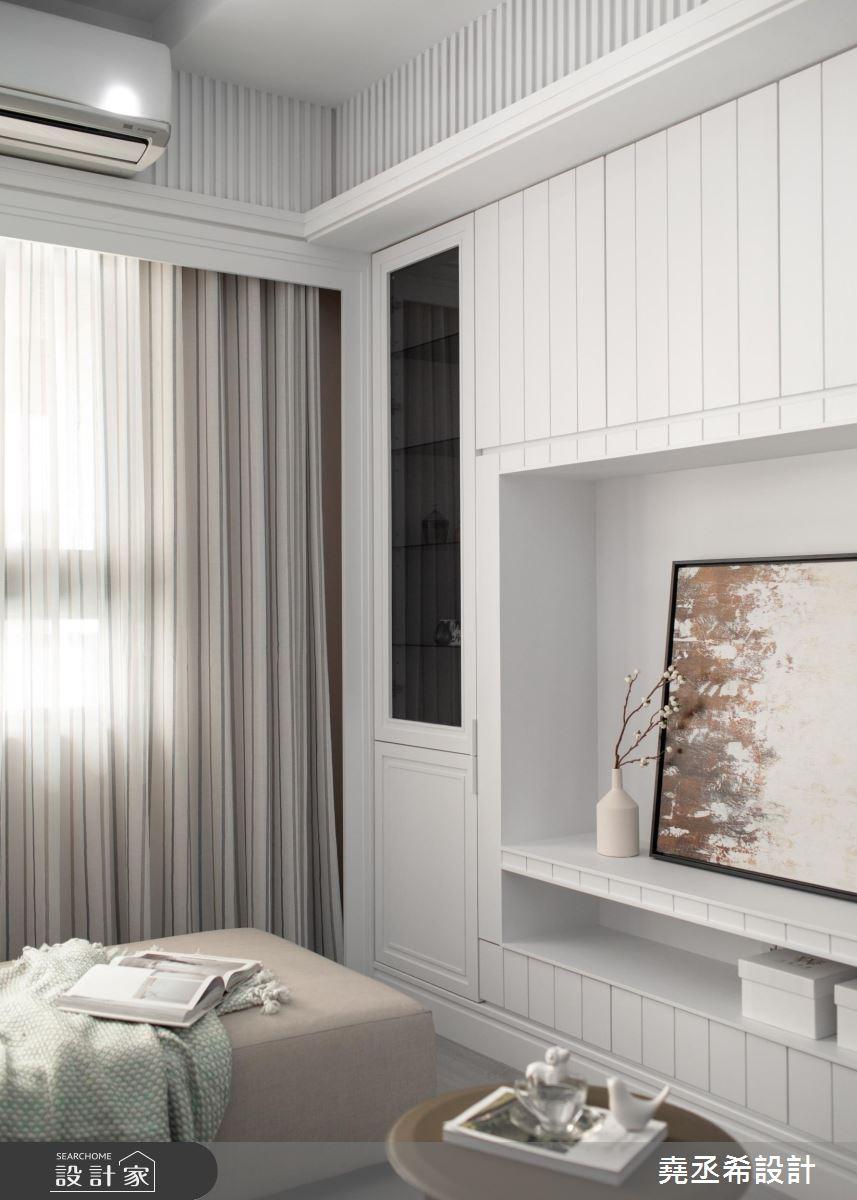 20坪新成屋(5年以下)_新古典客廳案例圖片_堯丞希設計_堯丞希_43之4
