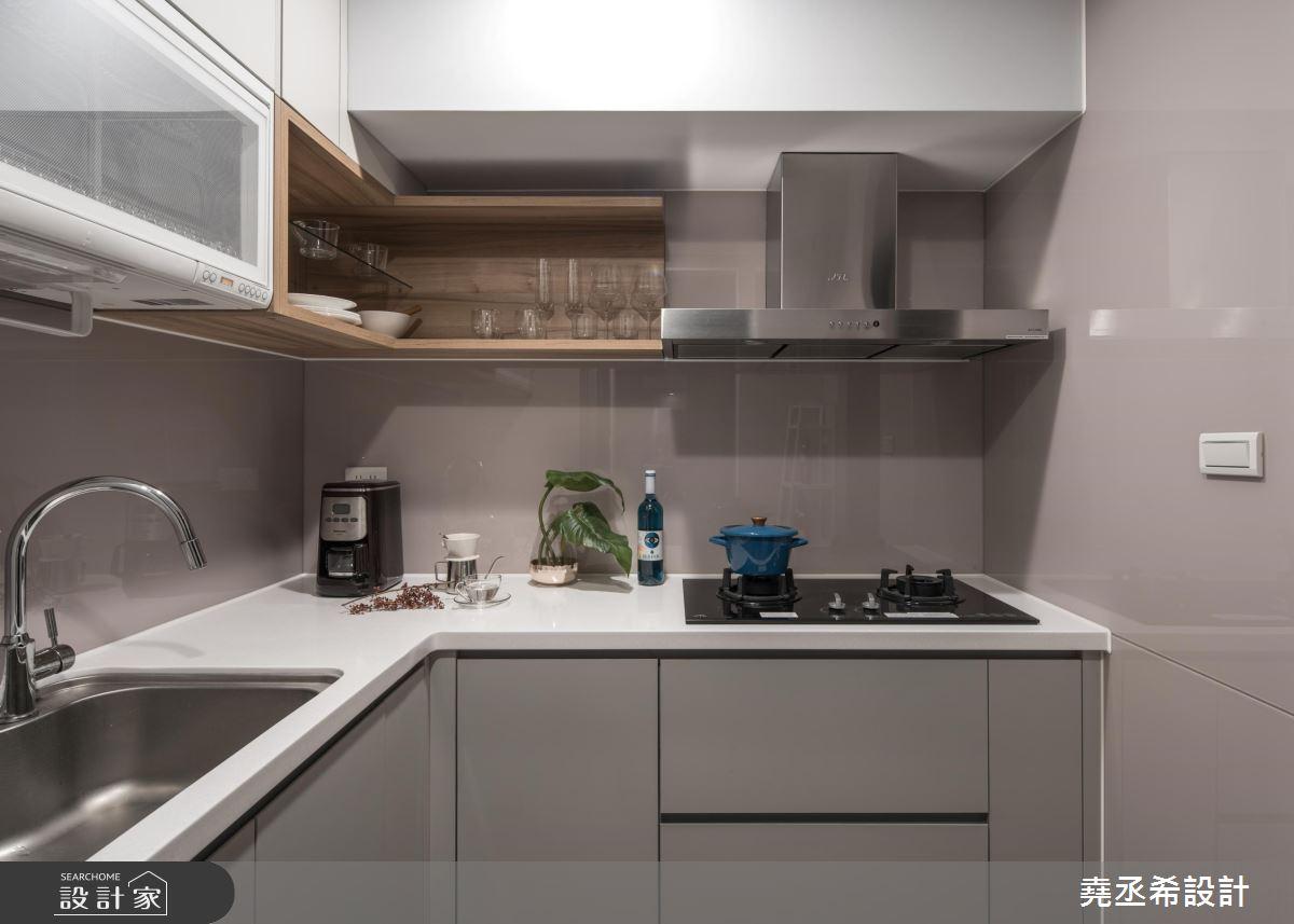 20坪新成屋(5年以下)_新古典廚房案例圖片_堯丞希設計_堯丞希_43之13