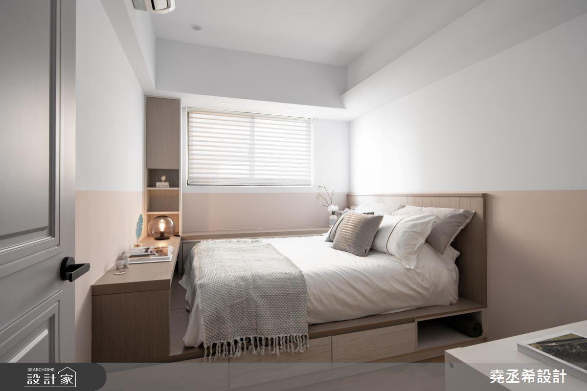 20坪新成屋(5年以下)_新古典臥室案例圖片_堯丞希設計_堯丞希_43之16