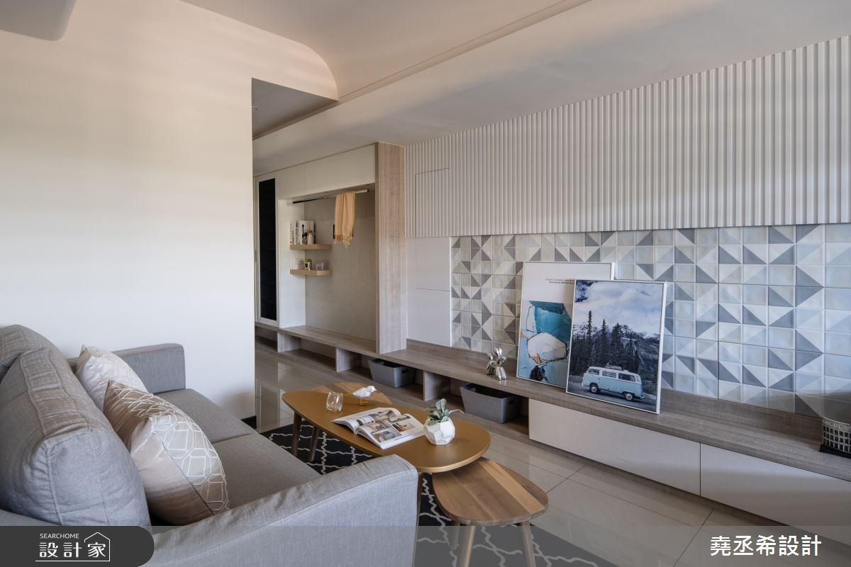 16坪新成屋(5年以下)_北歐風客廳案例圖片_堯丞希設計_堯丞希_45之3