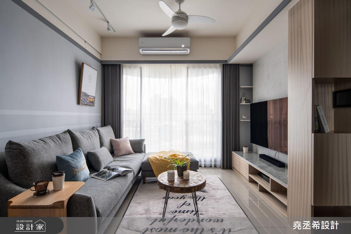 20坪新成屋(5年以下)_北歐風客廳案例圖片_堯丞希設計_堯丞希_48之2