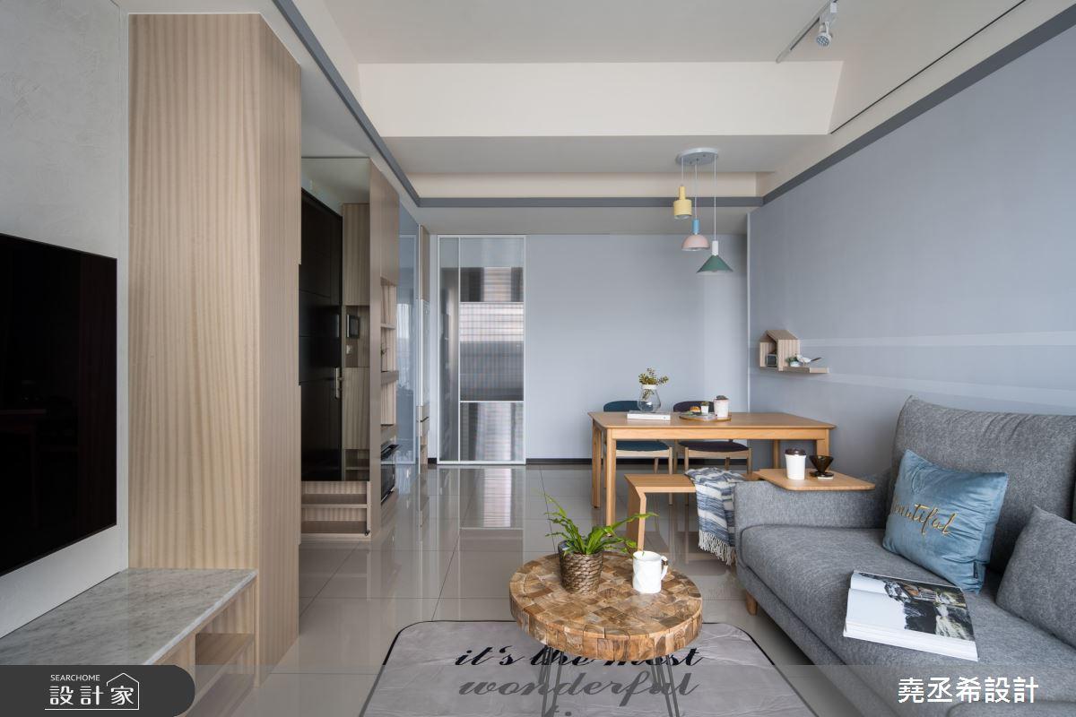 20坪新成屋(5年以下)_北歐風客廳餐廳案例圖片_堯丞希設計_堯丞希_48之4