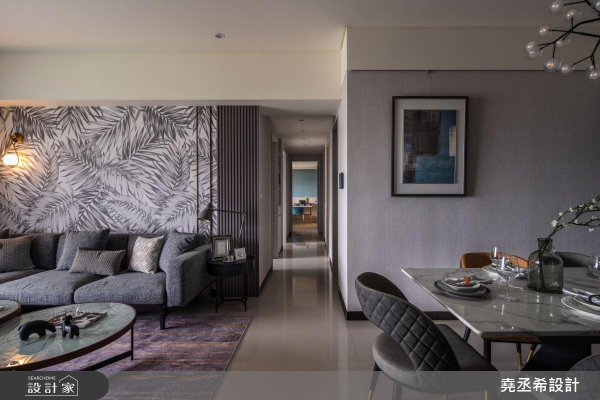 38坪新成屋(5年以下)_飯店風客廳餐廳案例圖片_堯丞希設計_堯丞希_49之3