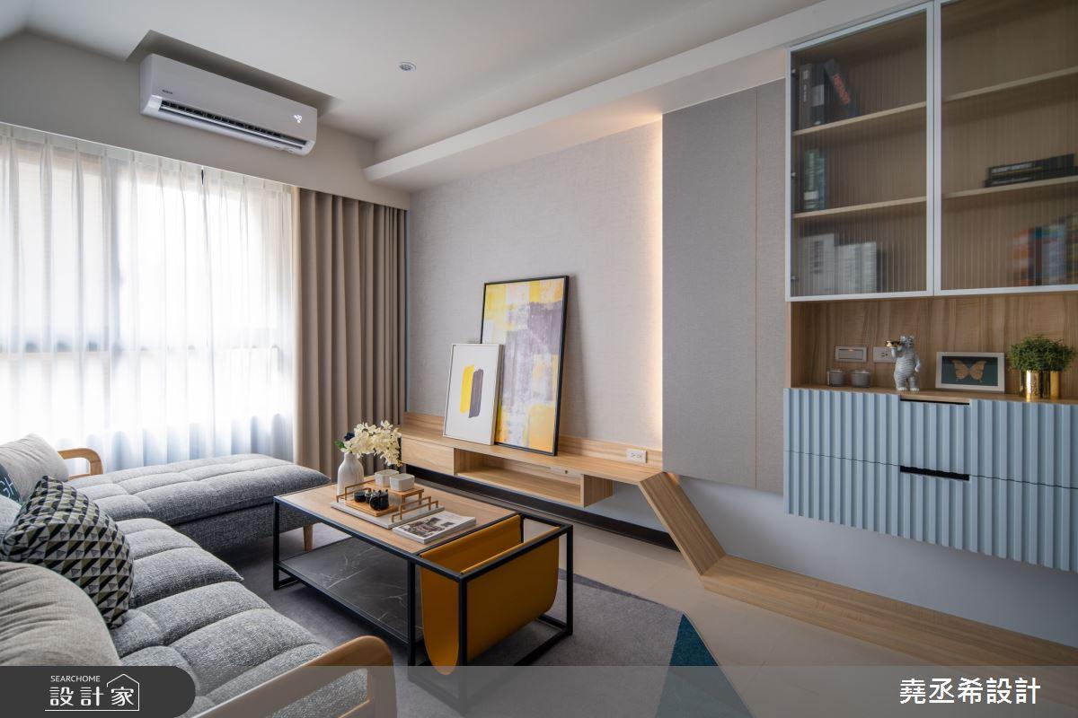 24坪新成屋(5年以下)_北歐風客廳案例圖片_堯丞希設計_堯丞希_50之4