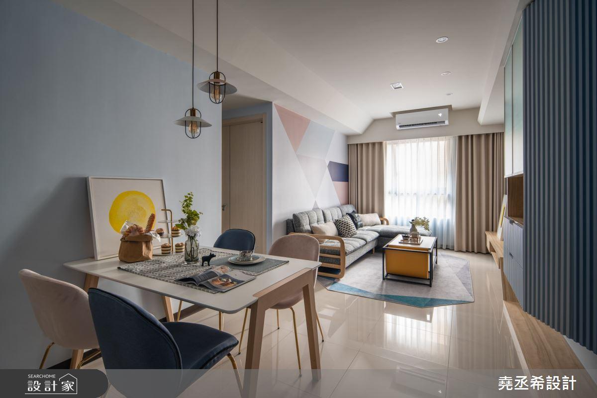 24坪新成屋(5年以下)_北歐風餐廳案例圖片_堯丞希設計_堯丞希_50之7
