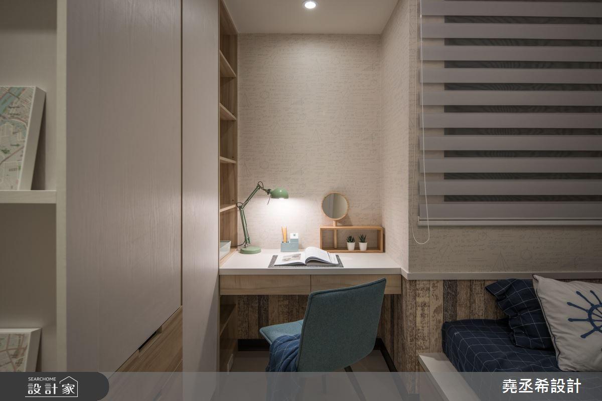 24坪新成屋(5年以下)_北歐風臥室案例圖片_堯丞希設計_堯丞希_50之13