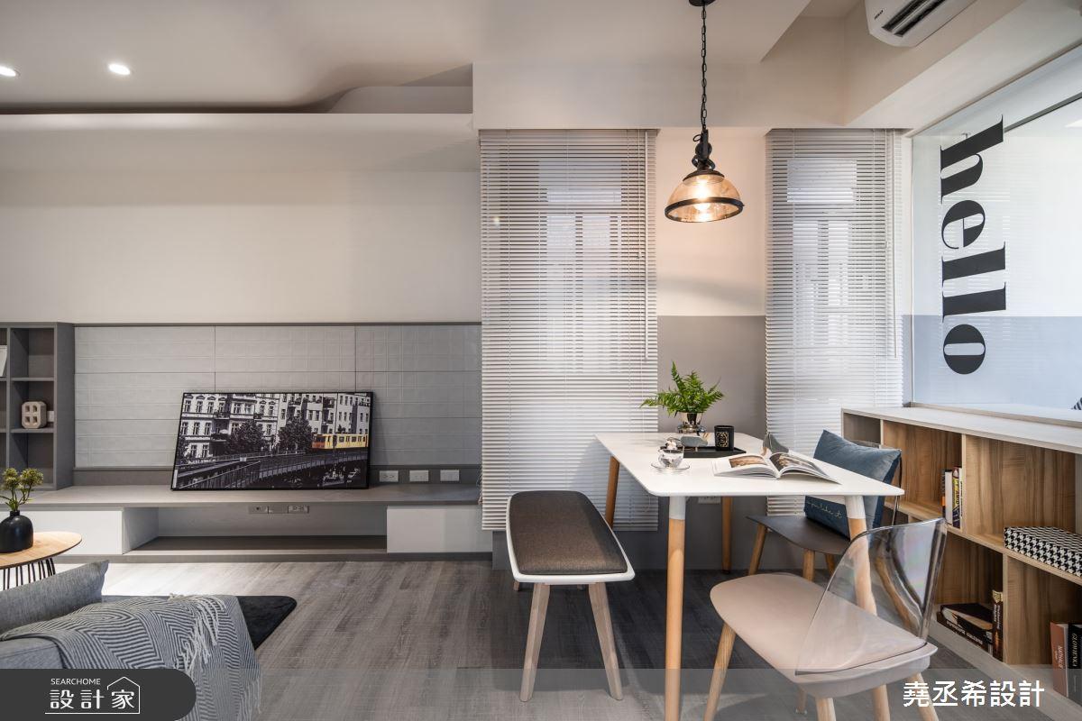 13坪新成屋(5年以下)_現代風餐廳案例圖片_堯丞希設計_堯丞希_51之5