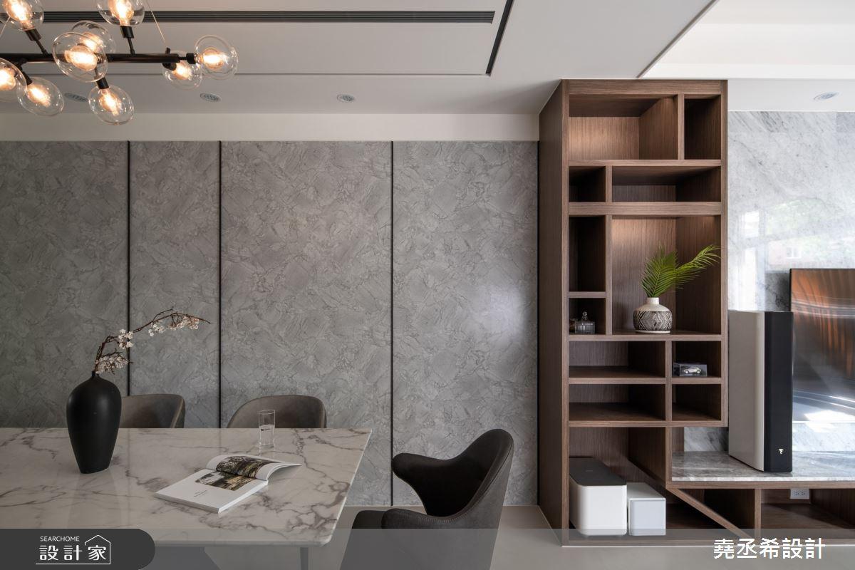 80坪新成屋(5年以下)_現代風餐廳案例圖片_堯丞希設計_堯丞希_58之1