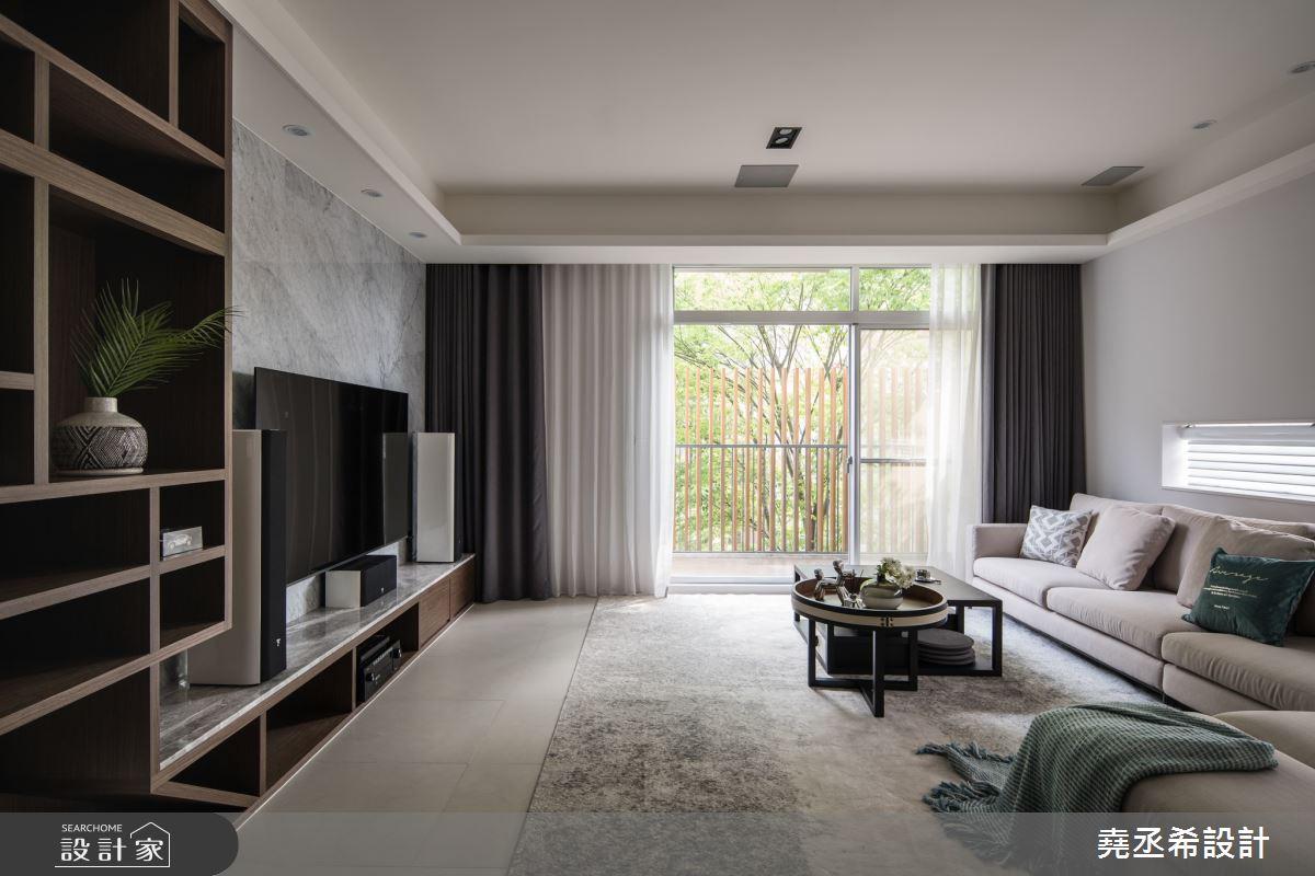80坪新成屋(5年以下)_現代風臥室案例圖片_堯丞希設計_堯丞希_58之2