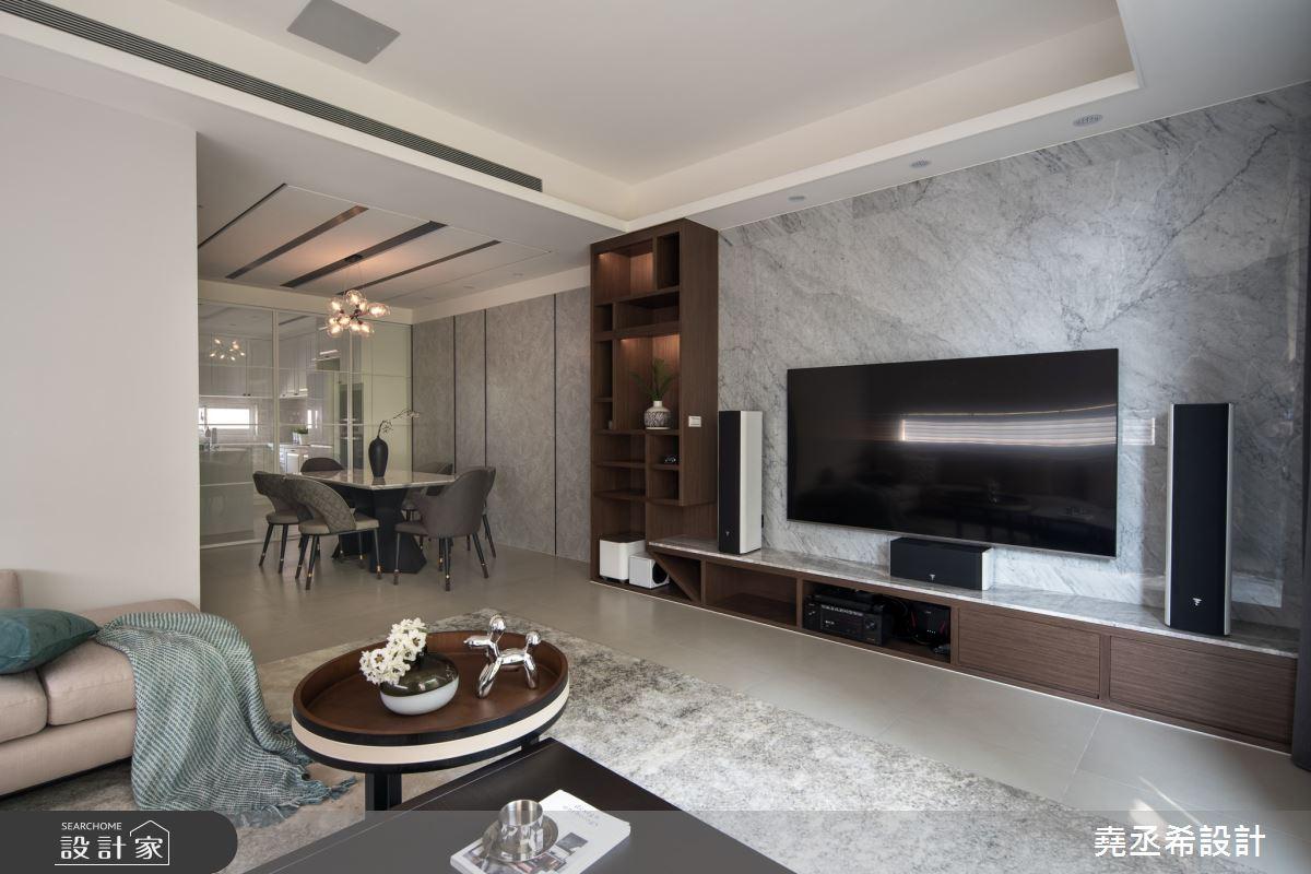 80坪新成屋(5年以下)_現代風客廳案例圖片_堯丞希設計_堯丞希_58之5