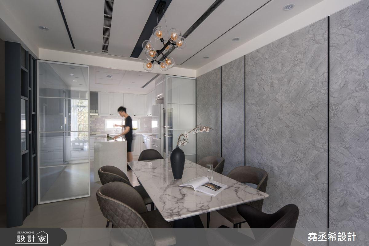 80坪新成屋(5年以下)_現代風餐廳案例圖片_堯丞希設計_堯丞希_58之6
