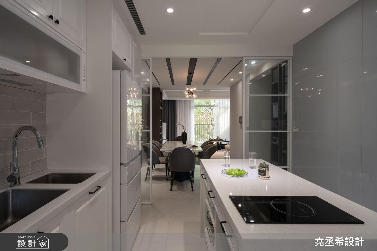 80坪新成屋(5年以下)_現代風廚房案例圖片_堯丞希設計_堯丞希_58之8