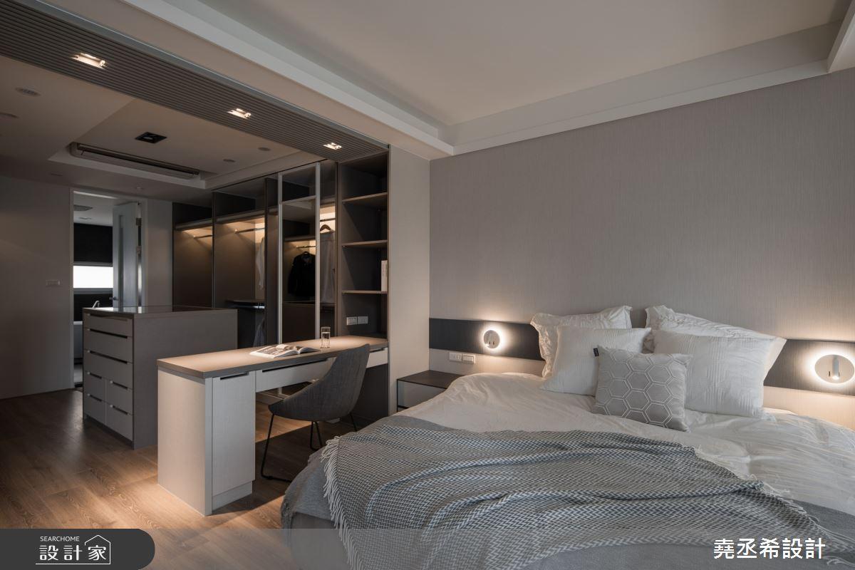 80坪新成屋(5年以下)_現代風臥室案例圖片_堯丞希設計_堯丞希_58之12