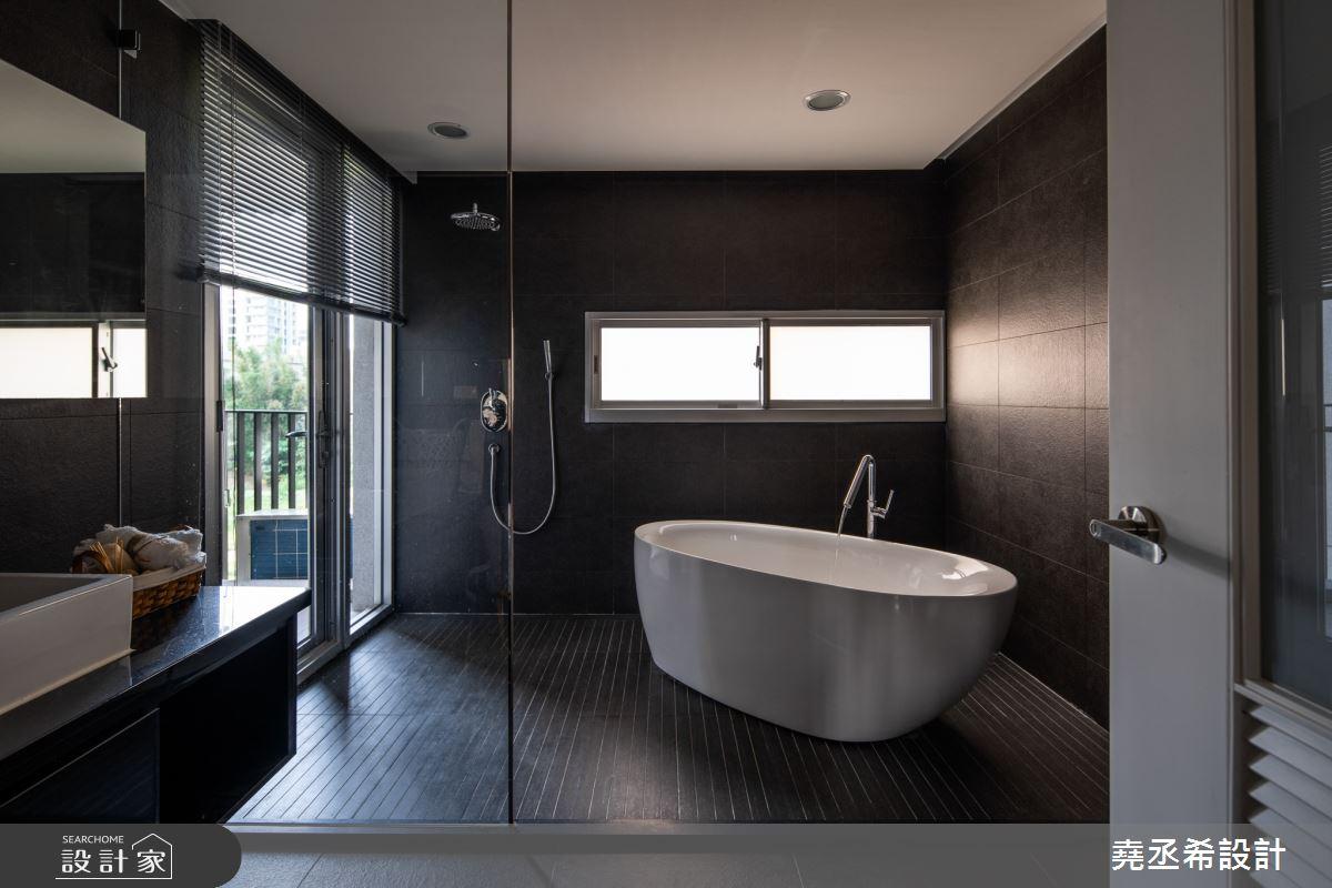 80坪新成屋(5年以下)_現代風浴室案例圖片_堯丞希設計_堯丞希_58之15