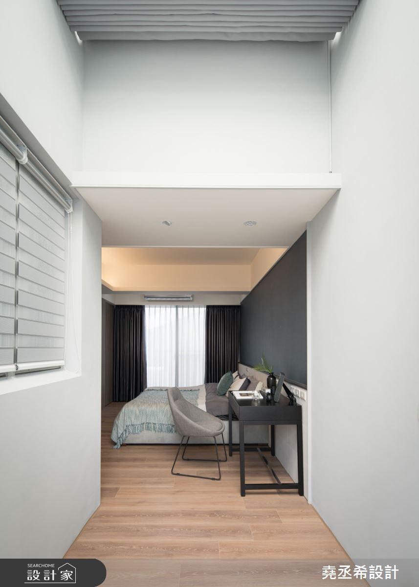 80坪新成屋(5年以下)_現代風臥室案例圖片_堯丞希設計_堯丞希_58之16
