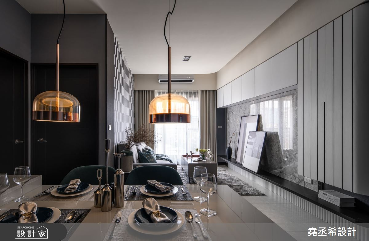 18坪新成屋(5年以下)_現代風客廳案例圖片_堯丞希設計_堯丞希_59之2