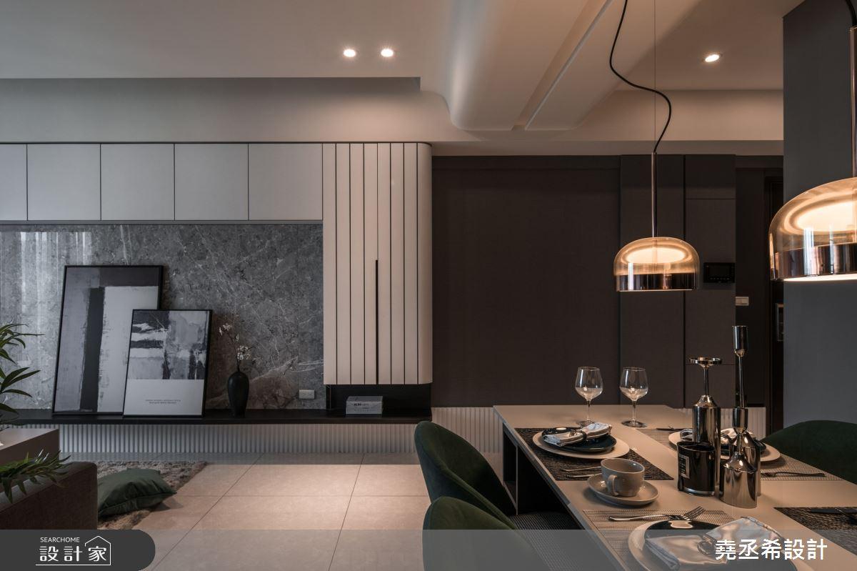 18坪新成屋(5年以下)_現代風客廳餐廳案例圖片_堯丞希設計_堯丞希_59之4
