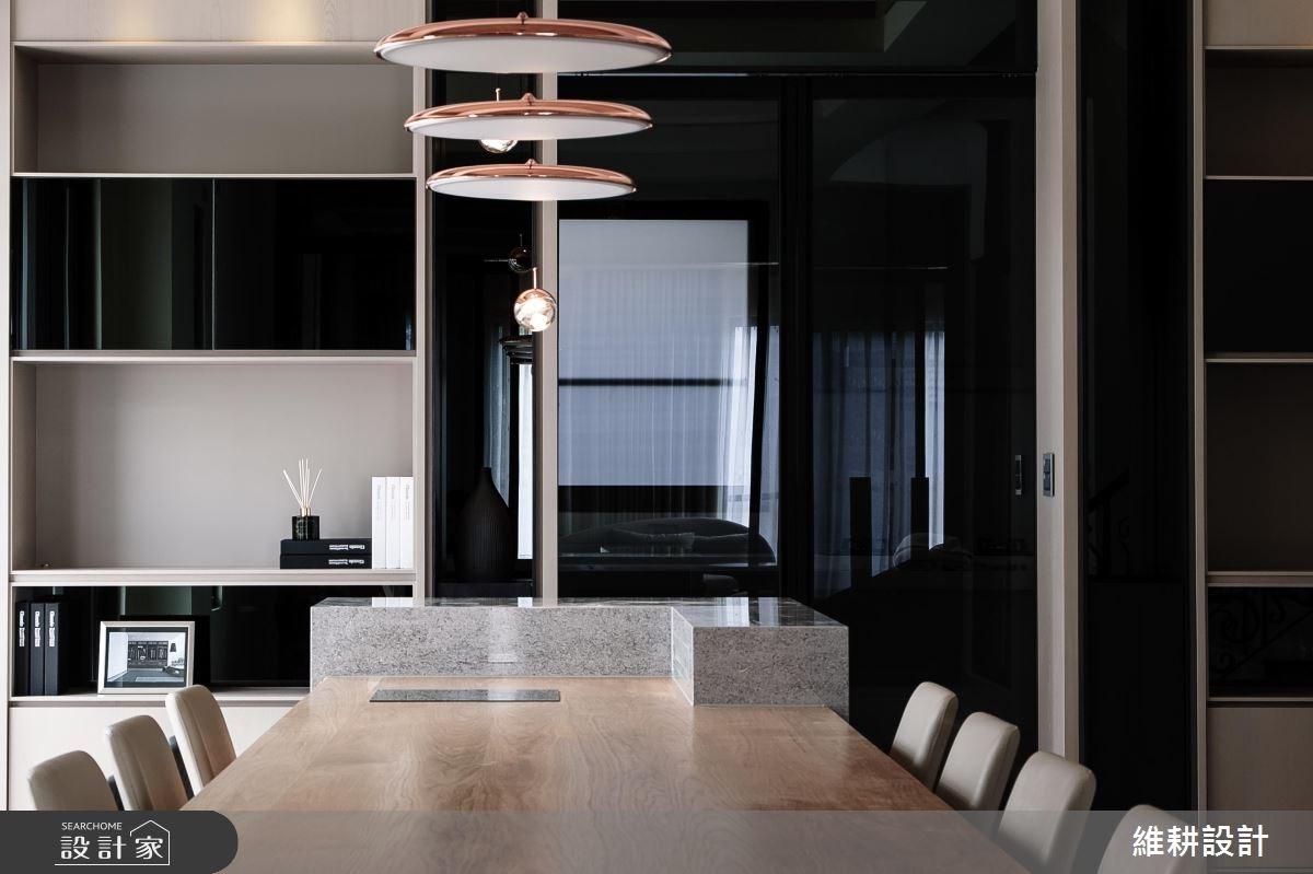 180坪新成屋(5年以下)_現代風餐廳案例圖片_維耕設計_維耕_05之3