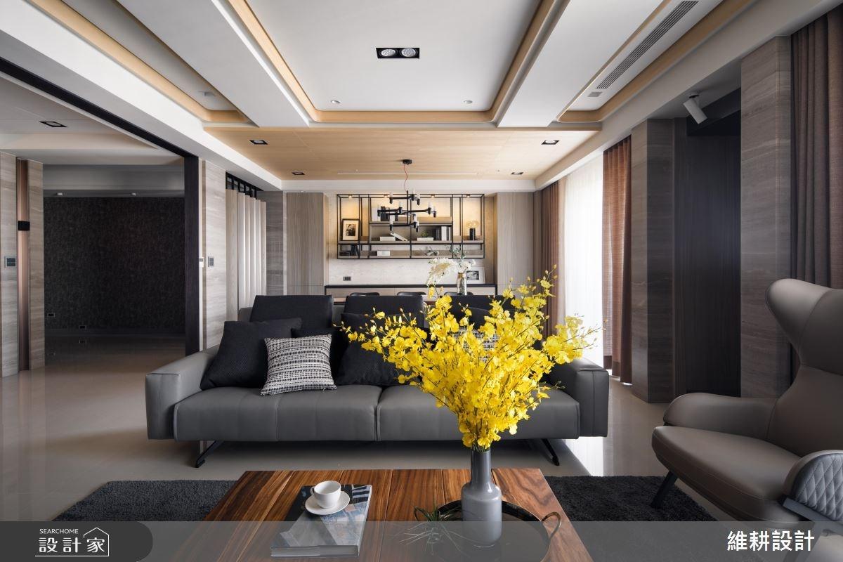 150坪新成屋(5年以下)_奢華風客廳案例圖片_維耕設計_維耕_07之2