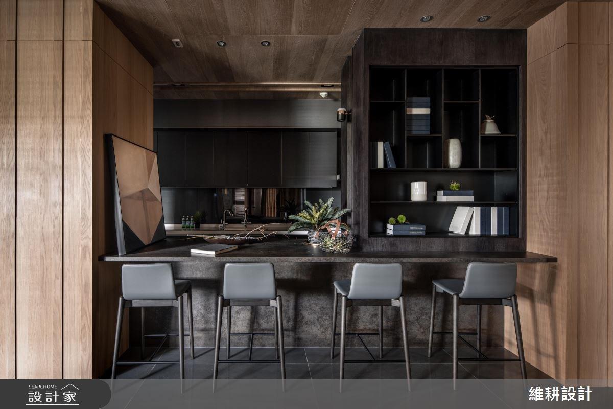 50坪新成屋(5年以下)_現代風餐廳案例圖片_維耕設計_維耕_11之3