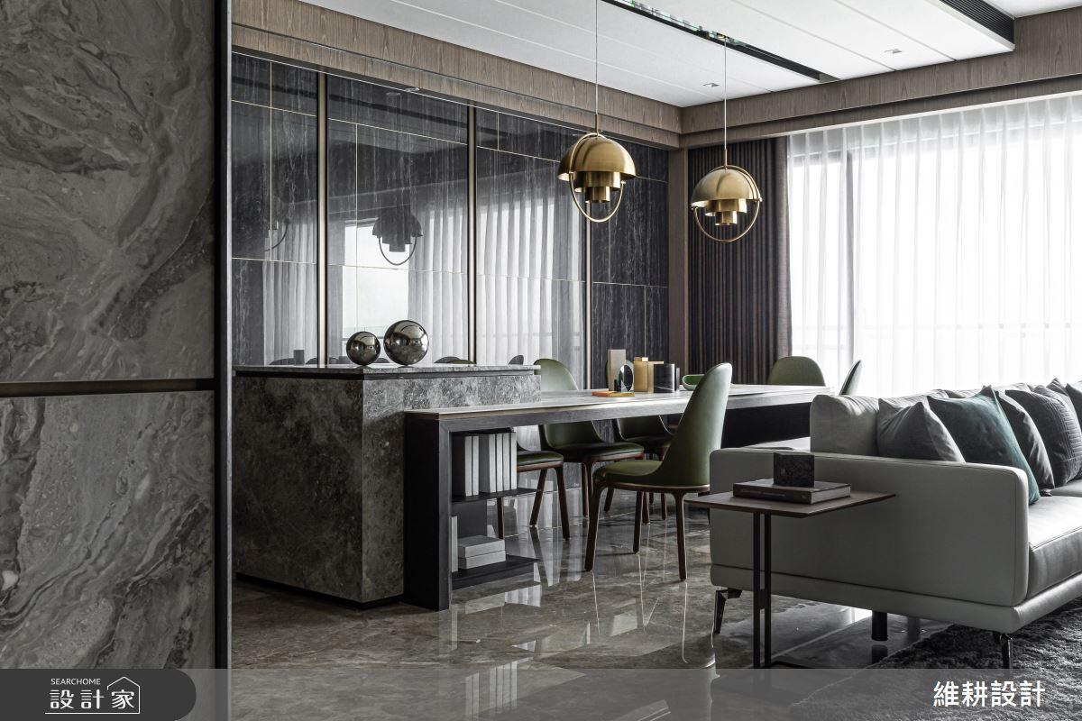 52坪新成屋(5年以下)_現代風客廳餐廳案例圖片_維耕設計_維耕_14之2