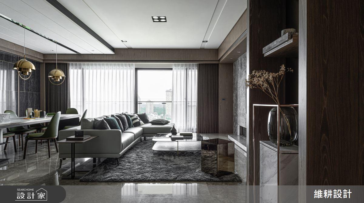 52坪新成屋(5年以下)_現代風客廳案例圖片_維耕設計_維耕_14之3