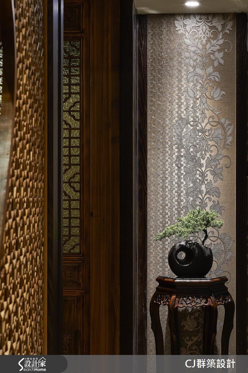 60坪老屋(16~30年)_新中式風案例圖片_群築室內設計有限公司_群築_01之4
