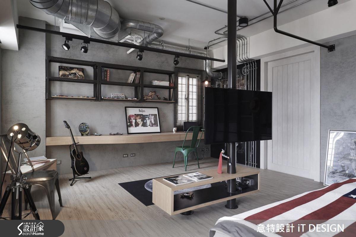 25坪新成屋(5年以下)_工業風案例圖片_意特設計 iT DESIGN_意特_01之4