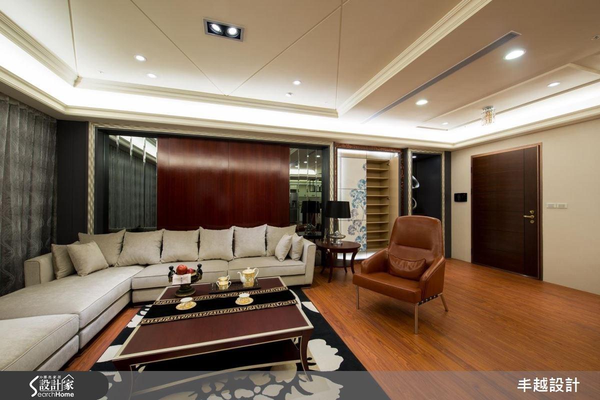 90坪新成屋(5年以下)_新古典案例圖片_丰越設計_丰越_09之5