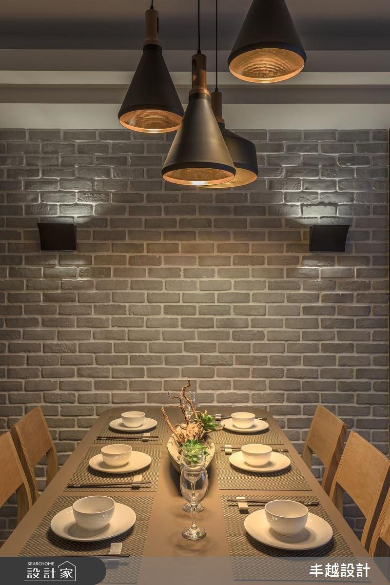 48坪新成屋(5年以下)_北歐風餐廳案例圖片_丰越設計_丰越_15之3