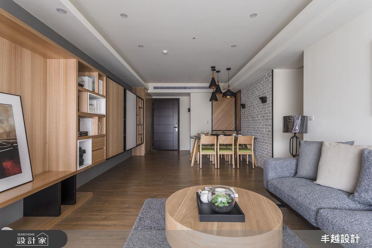 48坪新成屋(5年以下)_北歐風客廳案例圖片_丰越設計_丰越_15之8