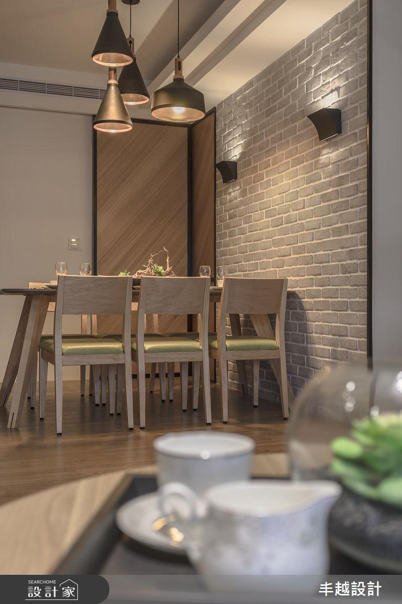 48坪新成屋(5年以下)_北歐風餐廳案例圖片_丰越設計_丰越_15之9