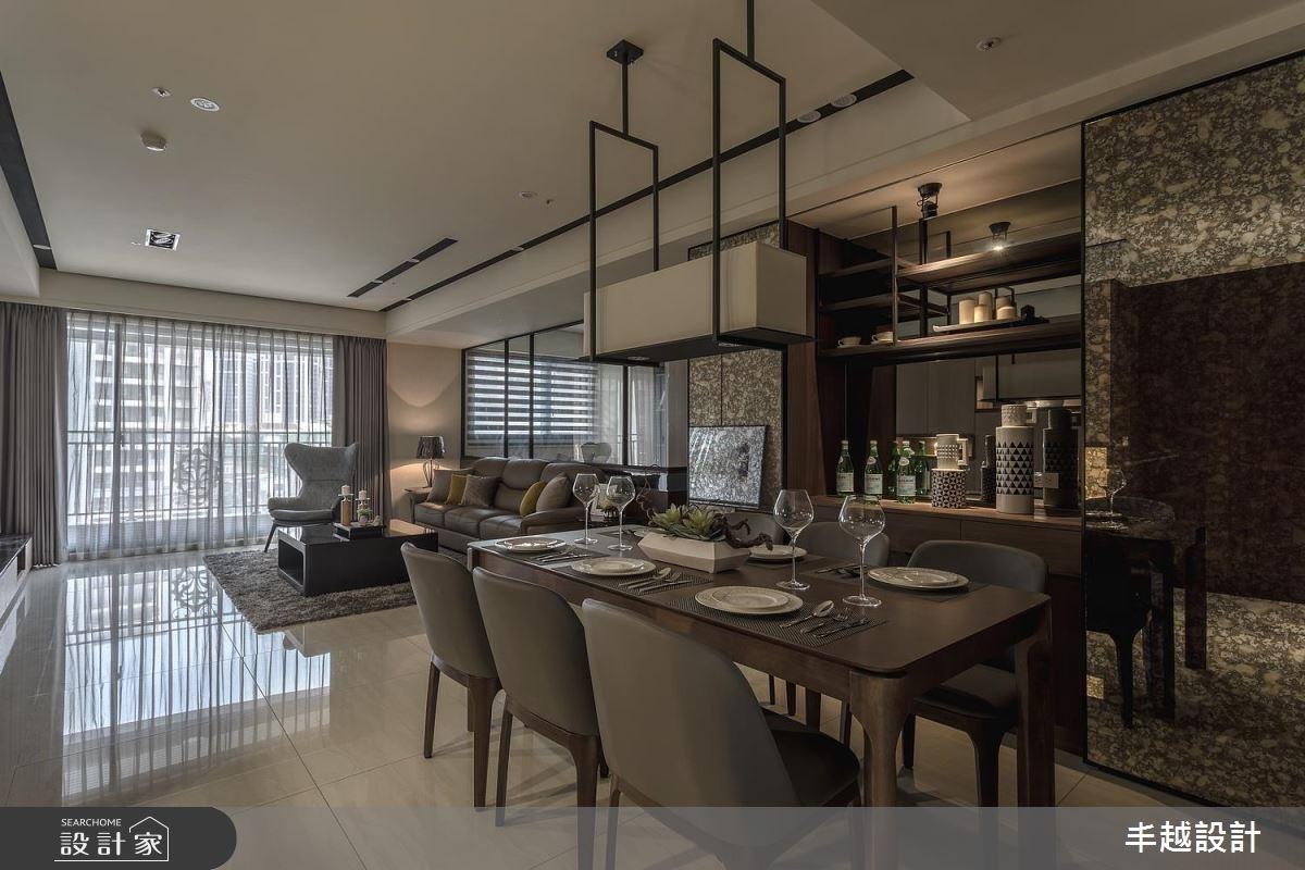 60坪新成屋(5年以下)_現代風餐廳案例圖片_丰越設計_丰越_19之2