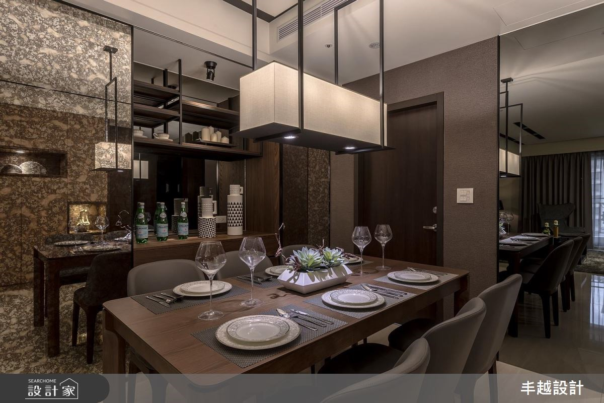 60坪新成屋(5年以下)_現代風餐廳案例圖片_丰越設計_丰越_19之4