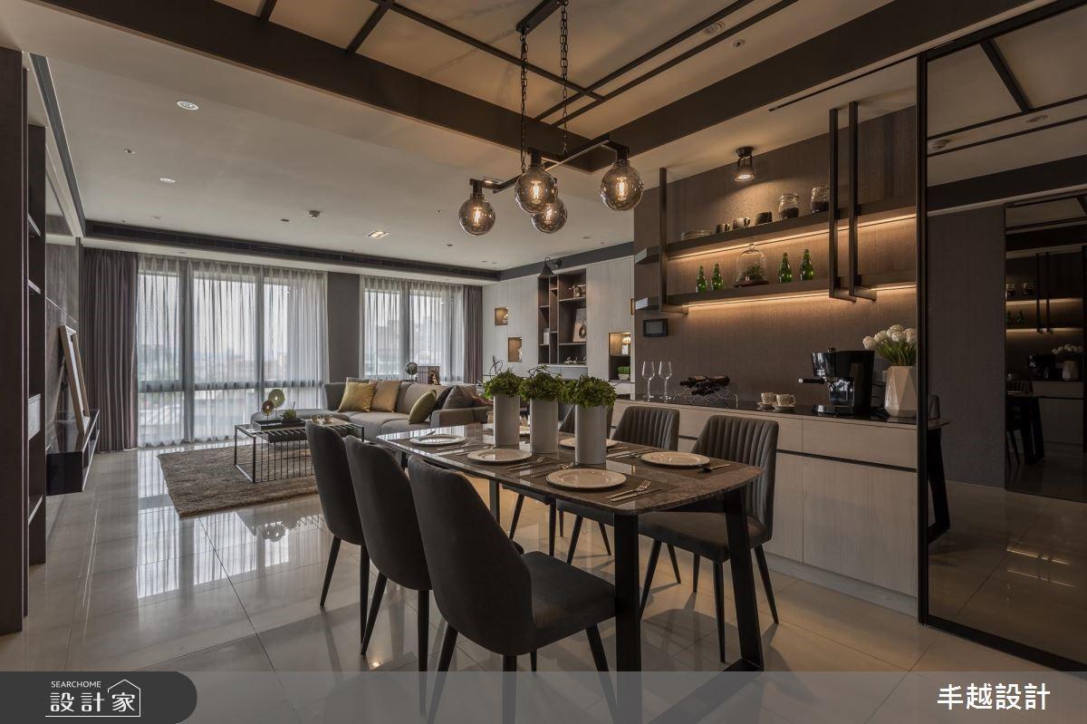 62坪新成屋(5年以下)_現代風餐廳案例圖片_丰越設計_丰越_24之3