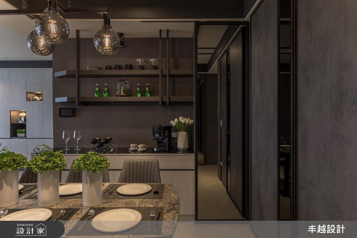 62坪新成屋(5年以下)_現代風餐廳案例圖片_丰越設計_丰越_24之4