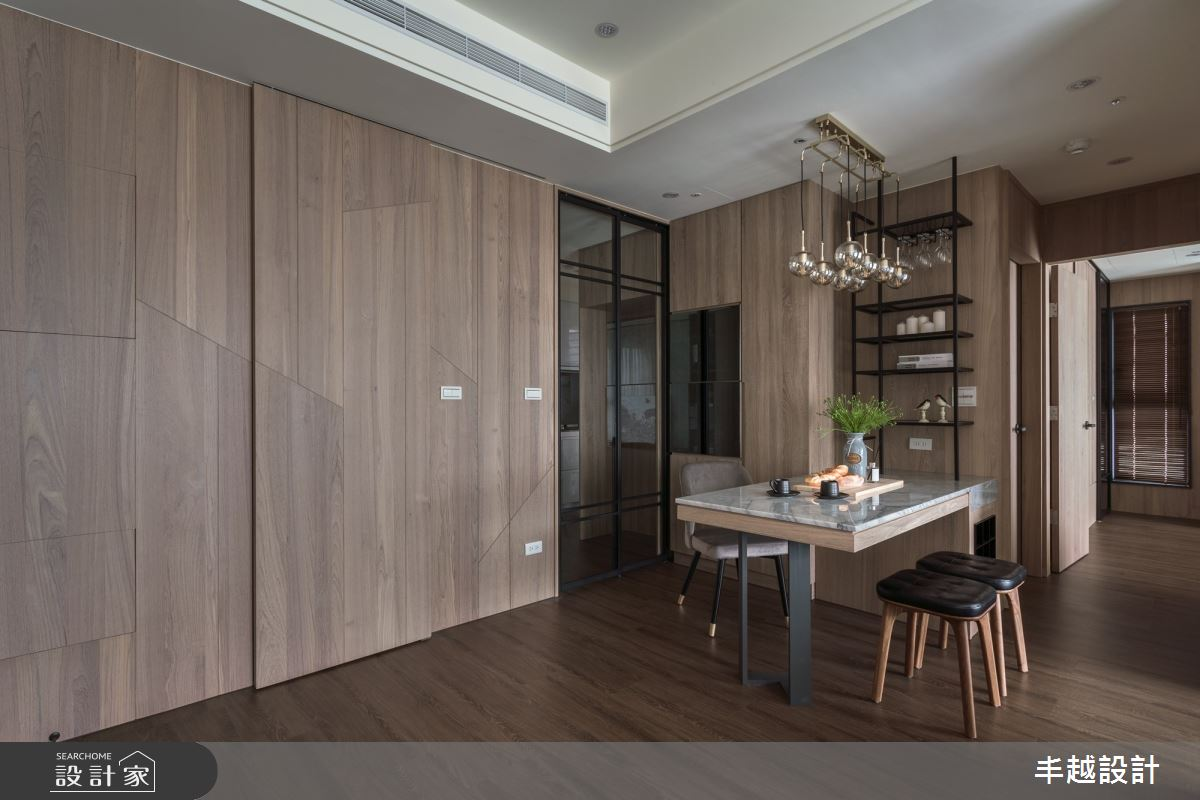 41坪新成屋(5年以下)_現代風餐廳案例圖片_丰越設計_丰越_30之1