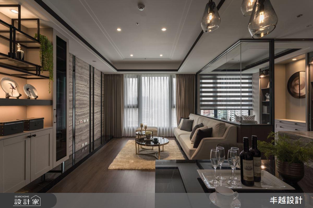 41坪新成屋(5年以下)_現代風客廳餐廳案例圖片_丰越設計_丰越_35之2
