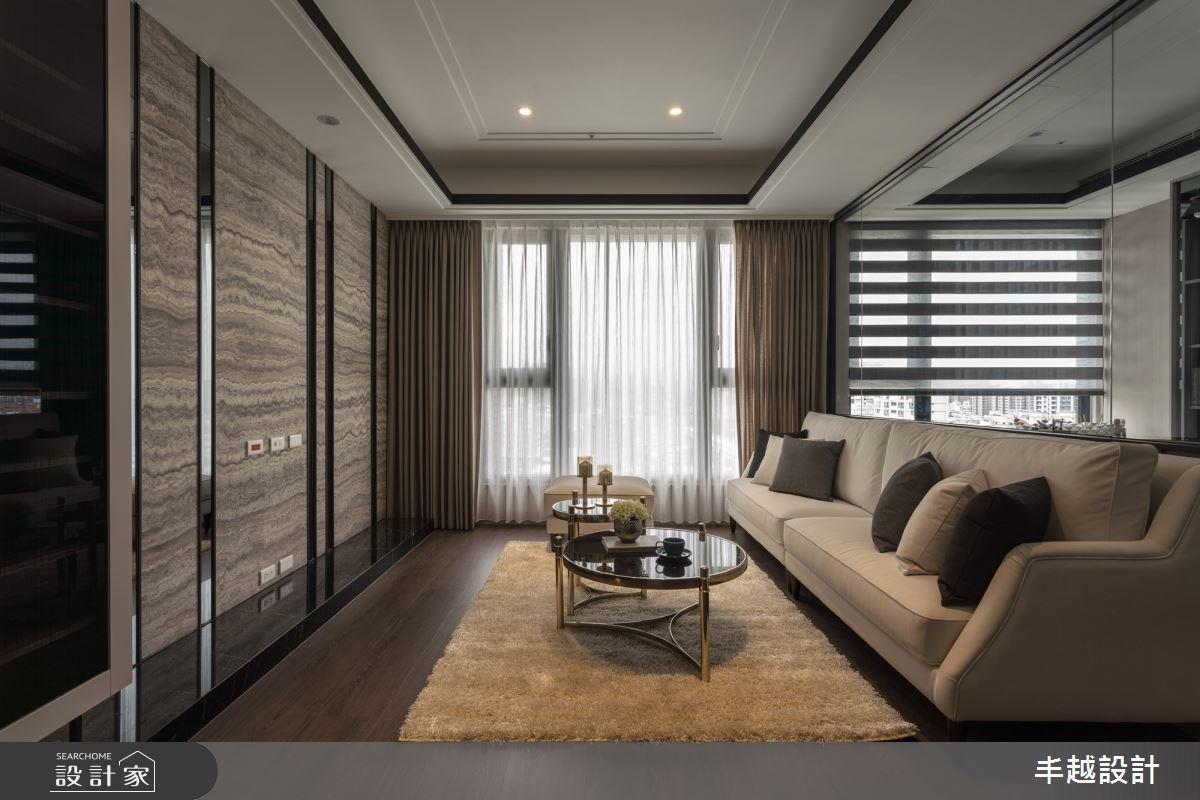 41坪新成屋(5年以下)_現代風客廳案例圖片_丰越設計_丰越_35之3